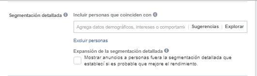 campaña de facebook